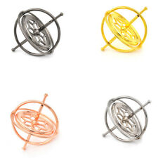 Metal Gyroscope Spinner Gyro Science Educational Learning Balance Toy Gifts TDCA