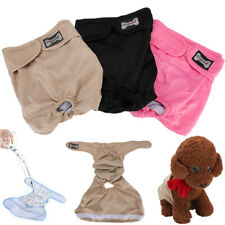 Male Dog Sanitary Pants Puppy Nappy Diaper Belly Wrap Band Underpants XS-XL #US