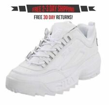 Fila Strada Disruptor II 2 Men's Casual Sneakers Shoes All White