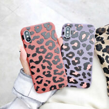 Leopard Print TPU Silicone Phone Case Cover For iPhone X XS Max XR 6 7 8 Plus