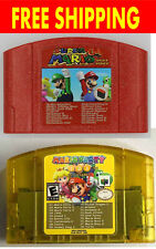 18 in 1 N64 Nintendo 64 NES Classic Super Game Cartridge Contra TMNT Mario