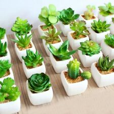 39Styles Green Artificial Succulents Plants for Home Garden Decoration Wedding