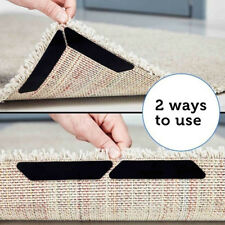 HO_ 8Pcs Reusable Rug Carpet Mat Curling Grippers Anti Slip Silicone Grip Skid T