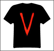 V the original tv mini series t shirt Black