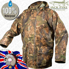 Hunters Camo Waterproof Hooded Field Smock Jacket Coat