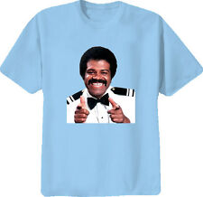 Isaac The Love Boat TV Show Funny T Shirt Light Blue