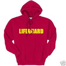 LIFEGUARD BAYWATCH Hoodie Personalised Name FREE