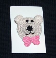 HANDMADE TEDDY BEAR or PUPPY PIN BROOCH for KIDS ADULT