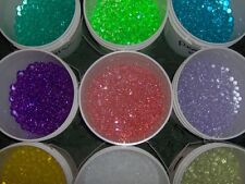 4oz ROUND DECO BEADS WATER STORING GEL CRYSTALS PEARLS