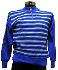 SANTINI Saturno CYCLING SWEATER Blue ITALIAN WOOL