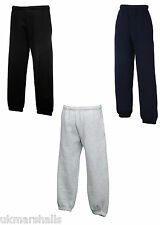 FRUIT OF THE LOOM KIDS JOG PANTS  - 3 COLOURS ALL AGES
