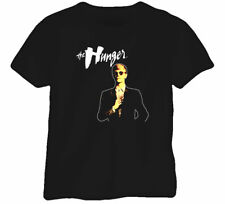 The Hunger Retro Movie Poster Bowie Vamp Black T Shirt