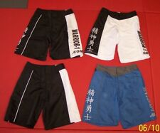 NEW! Kids & Adults Board Shorts - Black White or Blue - Martial Arts MMA BJJ UFC
