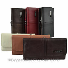 Ladies Large Top Quality Leather Purse in 6 Colours