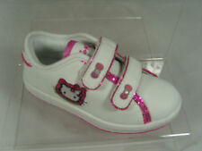 HELLO KITTY INFANT TRAINERS (ABBIE) WHITE/PINK