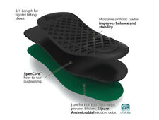 SPENCO 3/4 Length THINSOLE Arch Support - ALL SIZES