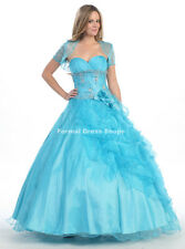 ! SALE ! 2 IN 1 BALL GOWN & COCKTAIL PROM DRESS WEDDING PAGEANT QUINCEANERA NEW