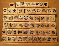 Teacher's MINI Chart Stamps - YOUR CHOICE, Letters A-P