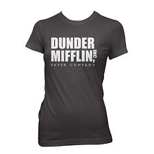 DUNDER MIFFLIN T-shirt paper company the office WOMEN'S
