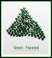 WholeSale Green Hotfix Rhinestuds faceted size 2,3,4mm