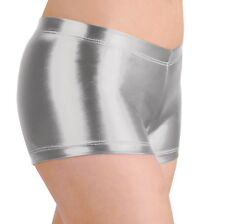METALLIC BOOTY SHORTS-5 FANTASTIC COLORS~SM, MD, LG,XL