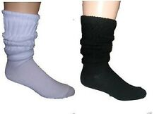 Heavy Cotton Slouch Socks Assorted Colors 10-13 Size