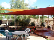 New Deluxe Rectangle Square Sun Sail Shade Canopy-18x18