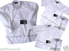 3 pack ZECO School BOYS shirts or GIRLS Blouses NEW