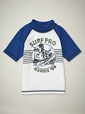 NWT Baby GAP Dinosaur Ocean Graphic Rashguard Swimwear Dino Swim Shirt Top NEW