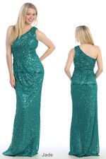 SALE !! FORMAL EVENING GOWN ENGAGEMENT STRETCHY MOTHER OF BRIDE DRESS UNDER $100