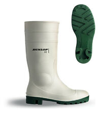 Dunlop Steel Toe Safety Hygeine Wellingtons Boots 4-13