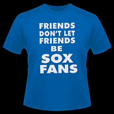 Chicago Cubs Funny Anti White Sox Suck Friends T shirt