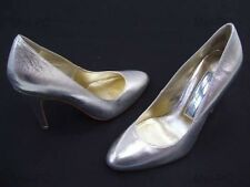 STEVE MADDEN SAPPHIRE SILVER WEDDING BRIDAL LADIES DRESS FORMAL SHOES NEW