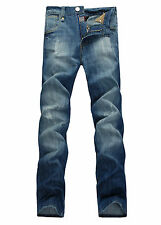 NEW MENS FOXJEANS BLUE DENIM JEANS SIZE 30-44