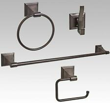 Oil Rubbed Bronze Bathroom Hardware Accessory Set