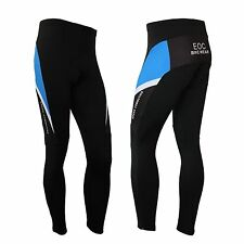 Men's Fleece Thermal Winter Cycling  Pants Padded Bike Bicycle Tights