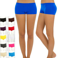 SEAMLESS SHORT PANTY SPANDEX LEGGINGS ONE SIZE Various Colors