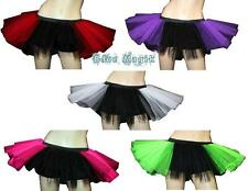 Halloween Devil Witch Vampire Angel Tutu Skirts Gothic Fancy Dress Costume 6-14