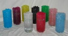 WATER GEL CRYSTALS  WEDDING VASE FILLER CENTERPIECES 10 COLORS FREE SHIPPING USA
