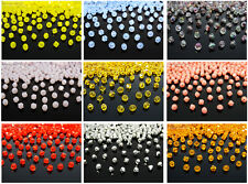 100Pcs Top Quality Czech Crystal Faceted Bicone Beads 6mm Jewelry Crafts Design