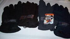 Mens Insulated Fleece Gloves 4 colors avail.