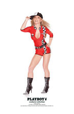 SEXY PLAYBOY RACY RACER DRIVER COSTUME FW102364 NEW