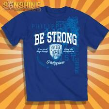 NEW KERUSSO BE STRONG ADULT CHRISTIAN T-SHIRT     Philippians 4:13