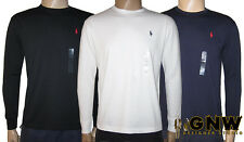 RALPH LAUREN POLO DESIGNER MENS LONG SLEEVE T SHIRT/TEE/SHIRT S/M/L/XL NWT