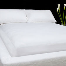 Sale 1000TC 100% Egyptian Cotton Soft Waterbed Sheet Set White Solid Choose Size
