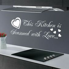 THIS KITCHEN IS ...FUNNY DINING ROOM QUOTE SAYING WALL ART DECAL STICKER VINYL