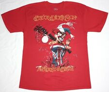 BRUCE DICKINSON ACCIDENT AT BIRTH IRON MAIDEN SAMSON METAL NEW RED T-SHIRT