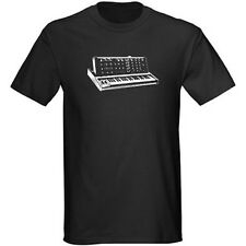 Men's Moog Early Minimoog Synthesizer History Graphic T Shirt Size S - 5XL
