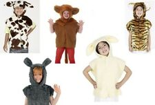 #KIDS TABARD ALL ANIMALS CHILD FANCY DRESS ONE SIZE COSTUME 3-8 YEARS