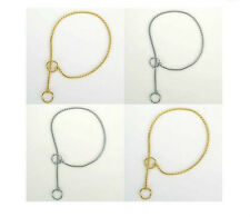 SNAKE CHAINS for DOGS Perfect for the show dog or a classy, light weight trainer